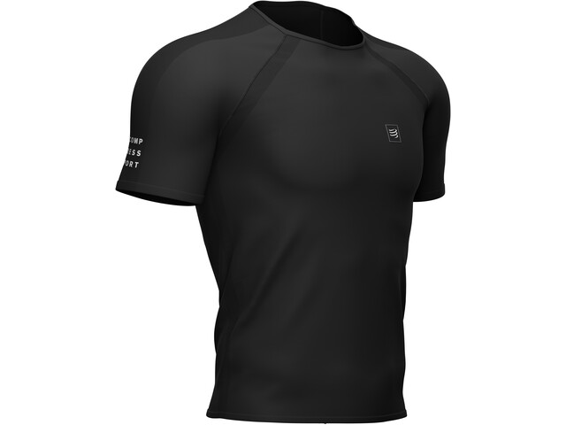 Compressport Training SS T-Shirt Men, black